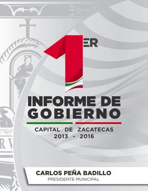 Primer Informe de Gobierno 2013-2016